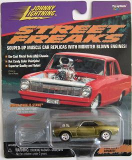45 Johnny Lightning Frightning Camaros Muscle Cars Hollywood Kiss Show
