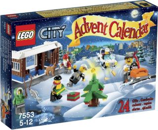 lego 2011 city advent calendar 7553