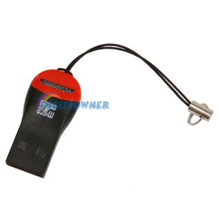 New USB 2 0 Micro SD SDHC T Flash TF Memory Card Reader for Windows