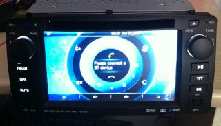 DIN Car DVD Player 7 Toyota Corolla to 2006 GPS TV FM Am Pip BT DVD
