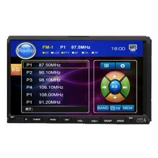 Versio 7 in Dash Double 2 DIN Car DVD CD Player Touch Screen