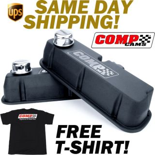 Comp Cams 289 302 351W Ford Black Wrinkle Valve Covers