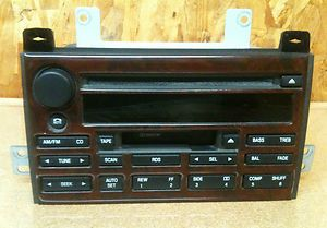 Lincoln Town Car OEM Factory Stock AM FM CD Cassette Radio Car Stereo