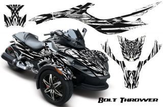 Can Am BRP Spyder Graphics Kit Decals Bolt Thrower BTWB