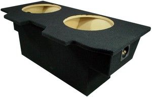 Chevy Camaro 93 02 Coupe Dual 12 Sub Box Speaker Subwoofer Stereo MDF