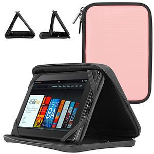 CaseCrown Hard Shell Case for  Kindle Fire Pink