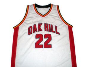 Carmelo Anthony Oak Hill High School Jersey White New Any Size Has