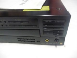 Sony ES CDP C601ES 5 Compact Disc CD Player Changer w Manual Very Nice