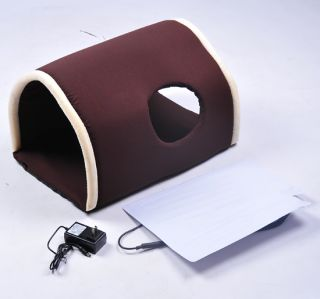 New Pawhut Electric Heated Dog or Cat Tunnel Pet Bed Kitty Puppy