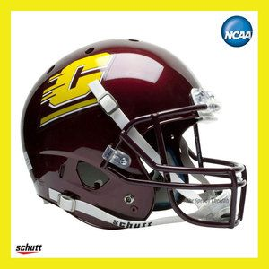 CENTRAL MICHIGAN CHIPPEWAS OFFICIAL FULL SIZE XP REPLICA FOOTBALL