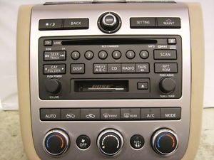 NISSAN CD 6 Disc Player Radio Changer MURANO PATHFINDER MAXIMA 350Z