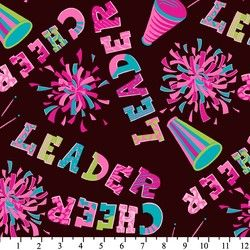 information policies cheerleader pom poms anti pill fleece fabric