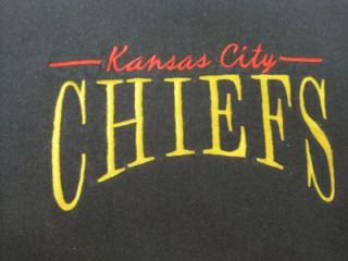 Chalk Line Mens Sweatshirt Embroidered Kansas City Chiefs Size XL LS