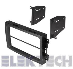 2006 2007 Jeep Grand Cherokee Radio Stereo Mounting Kit