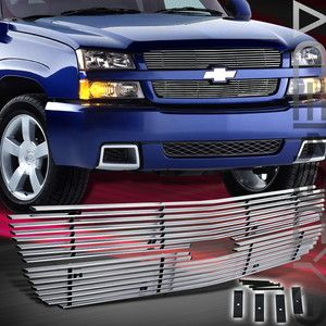 CHEVY 03 04 SILVERADO 2500 3500 PICKUP TRUCK FRONT UPPER LOWER GRILLE