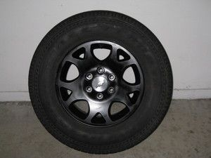 Chevrolet Tahoe Z71 Wheels Black 6 Lug Great Condition