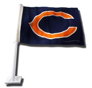 chicago bears car flag