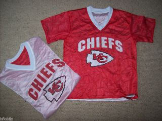 Kansas City Chiefs KC Football NFL Flag Youth Small Boy s 6 8