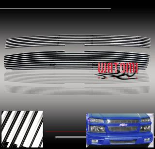 04 08 Chevy Colorado Front Upper Billet Grille Insert