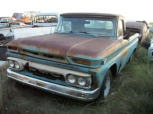 1965 chevy GMC pickup truck 1 2 ton chevrolet long bed custom cab