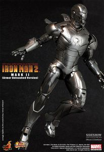Iron Man 2 Mark ii 1 6 Figure Don Cheadle Armor Unleashed Sideshow New