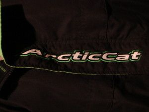 His and Hers Vintage Arctic Cat Snowmobile Sled Jacket Coat Large L XL