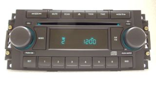 04 05 06 07 08 Chrysler 300M Aspen Dodge Durango Charger Dakota Radio