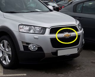 2011 2012 Chevrolet Captiva Front Grille Emblem Badge