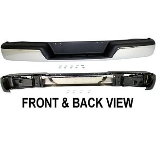 Step Bumper New Rear Chevrolet Express 1500 2009 2008 2007 2006 2005