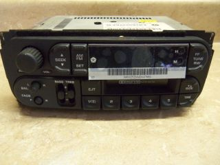 NOS Mopar Chrysler Dodge Jeep Neon Stereo Radio Cassette Player AM FM