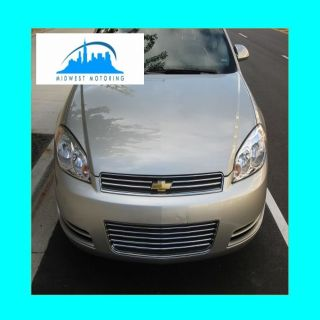 2006 2013 CHEVY CHEVROLET IMPALA CHROME TRIM FOR UPPER LOWER GRILLE W