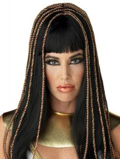 Egyptian Princess Queen of Nile Cleopatra Women Costume Wig