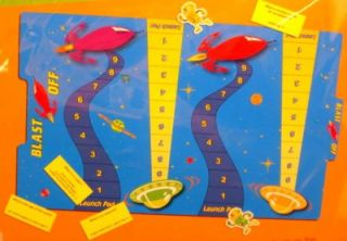 Science File Folder Game Blast Off Space Planets New