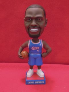 2005 Chris Webber Sacramento Kings Carls Jr Bobblehead