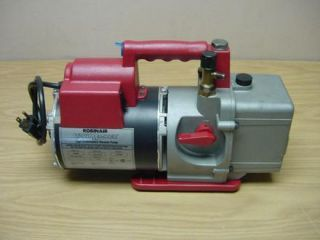 VacuMaster 15600 HIGH PERFORMANCE VACUUM PUMP Clean & Nice Free Ship