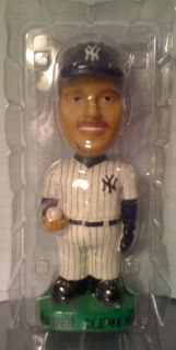 Roger Clemens Genuine Hand Painted Bobble Head Doll
