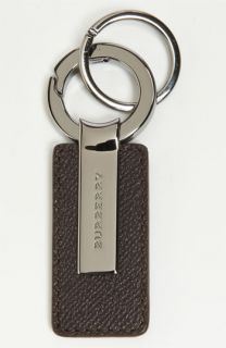 Burberry Leather & Metal Key Chain
