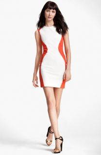 MSGM Colorblock Sheath Dress