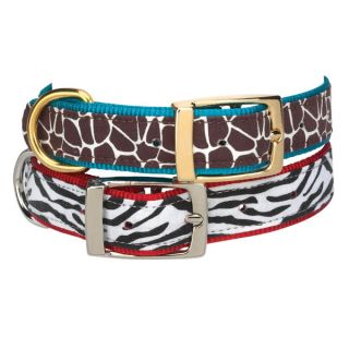11 Small Zack Zoey Animal Print Dog Collars S