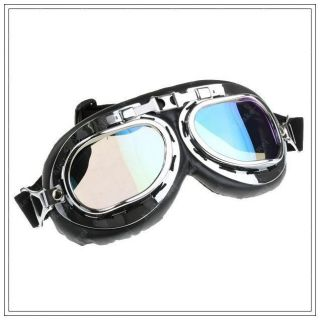 Steampunk Goggles Industrial Flight Color Lenses