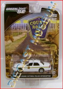 2008 08 Crown Victoria Police Cop Car Interceptor County Greenlight