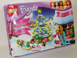 3316 Friends LEGO Advent Calendar **Damaged Box** Complete Set