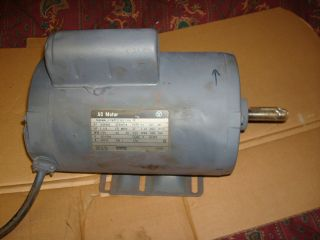 WESTINGHOUSE 1 5 HP ELECTRIC MOTOR POWER TOOL AIR COMPRESSOR