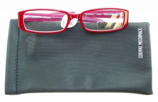 Corinne McCormack Reading Glasses Sherry Readers Red
