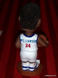 Corliss Williamson #34 Bobblehead Detroit Pistons NBA Basketball