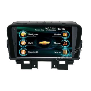 OCG 5062 Radio DVD GPS Navigation Headunit for Chevrolet Cruze 1