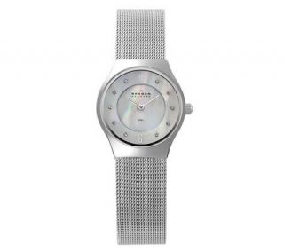 Skagen Womens Stainless Steel Mesh Watch —