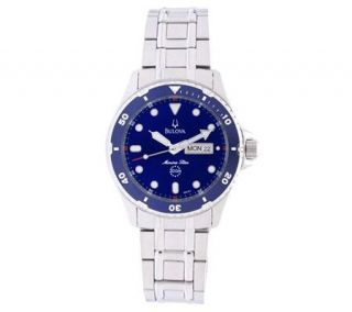 Bulova Mens Marine Star Sports Watch —