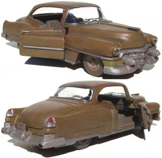 Scratch Bashed Built 1953 Cadillac 2 Door Coupe On30 On3 1 43