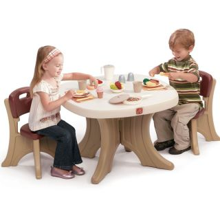 Kids Small Desk Table and Chairs Set Craft Table Play Toy Toddler NEW